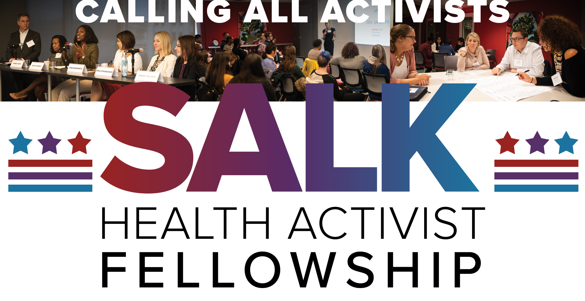 Applications Now Open for 2019 Salk Health Activist Fellowship