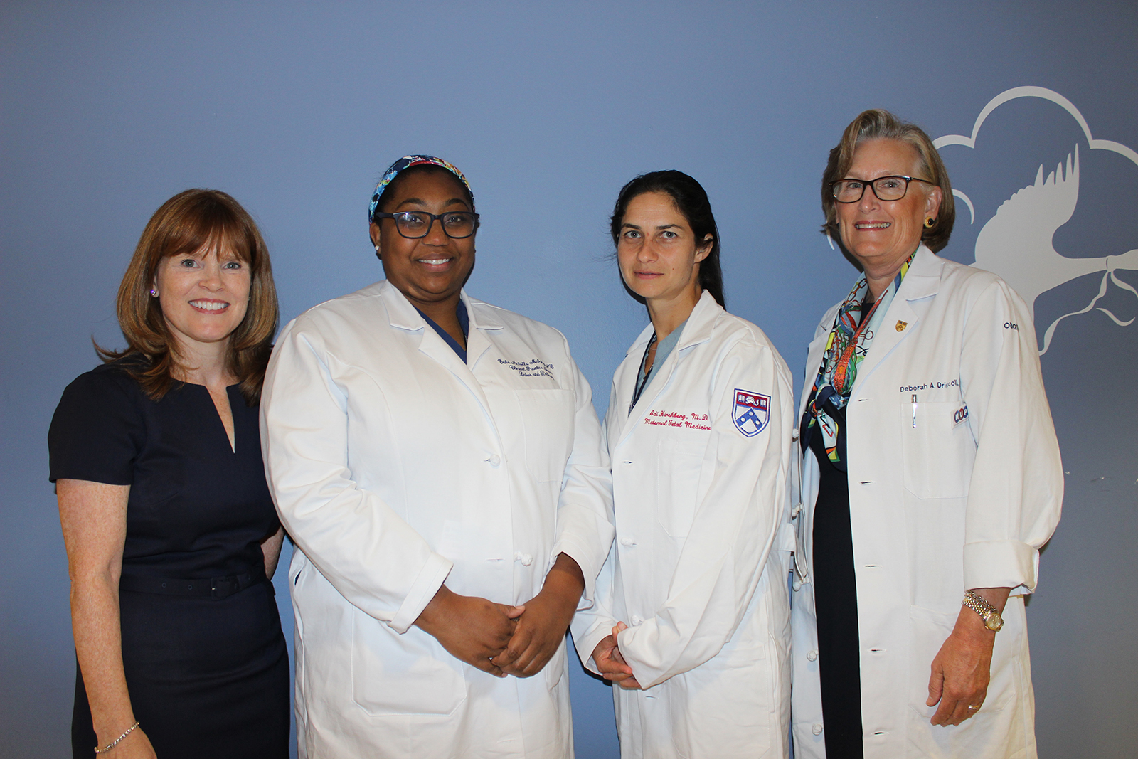 Members of the winning team at Penn Medicine's Hospital of the University of Pennsylvania.