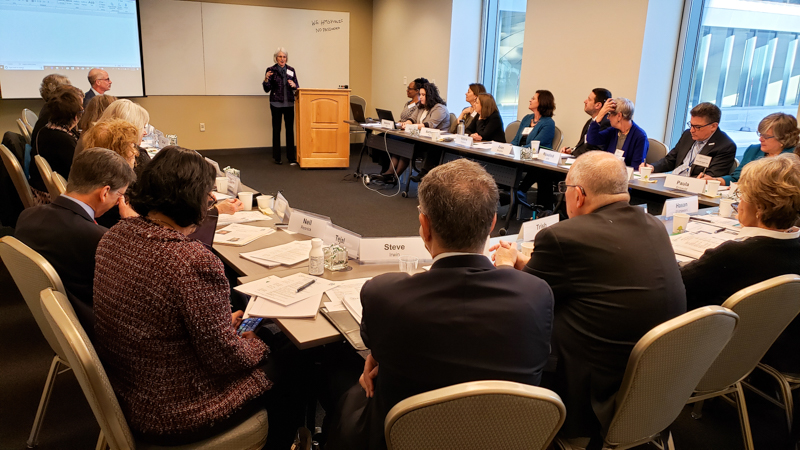 The first national meeting of healthcare leaders in Boston, MA on January 22.