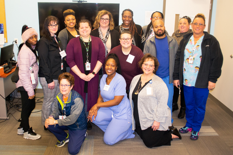 The 14 graduating CHW Apprentices at LIFE Pittsburgh.