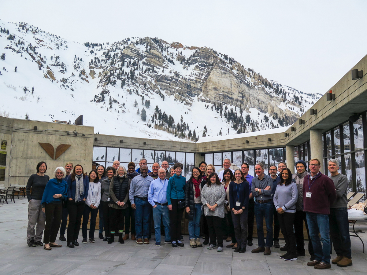 Participants of this year's Snowbird Health Summit.